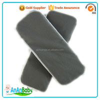 High Absorbent Organic 5- Layers Baby Charcoal Bamboo Insert