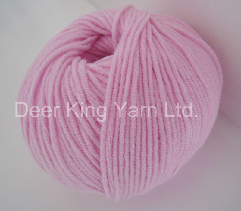 Acrylic Yarn : Acrylic Yarn,Soft Hand Knitting Blended Yarn - Buy Cotton Acrylic Yarn ...
