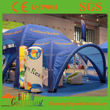 Air Camping Large Inflatable Tent with Oxford Printing Walls