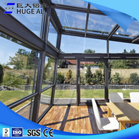 Supply all kinds of aluminum portable veranda sunroom