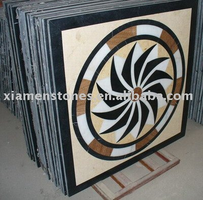 Natural Marble Stone Mosaic Art Pattern