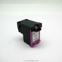 100% factory price wholesale refill ink cartridge 61 color compatible for hp printer