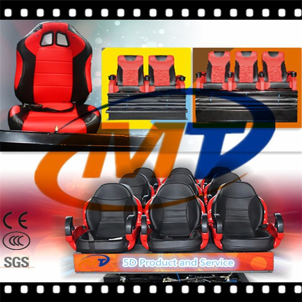 amusement park equipment mobile 5d cinema from Mantong