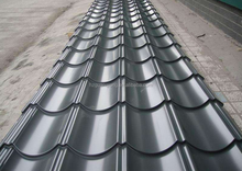 Color coated glazed steel roofing tiles