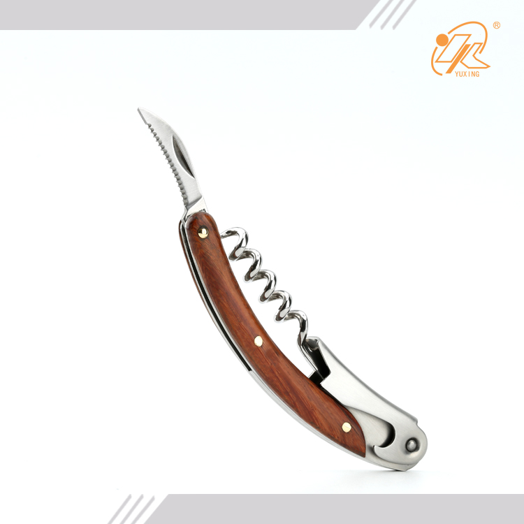 Yangjiang Manufacturing sale stainless steel Laguiole corkscrew