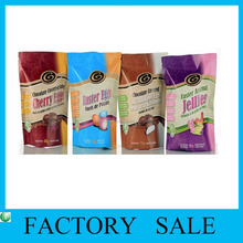 Hot Sale Coco Cola Standing UP Zipper Poly Bag with Clear Window