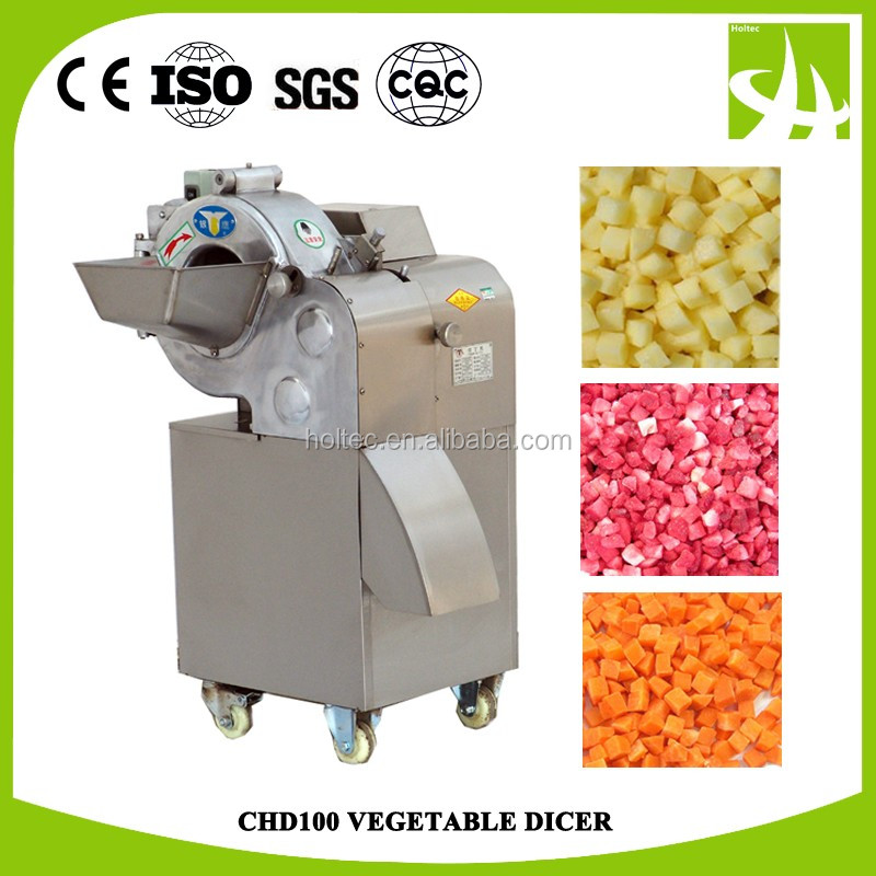 Holtec CHD100 Onion dicer/vegetable cubes cutter/baby carrot shred cubes cutting machine