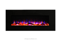 "50"" fake flame best electric fireplace"