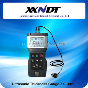 best seller high quality portable digital ultrasonic thickness gauge XXT-001