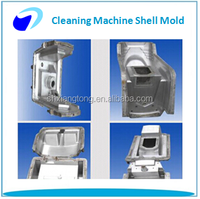 Rotational moulding dry cleaning machine mould