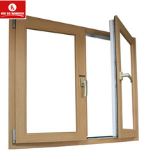 Anti-wind and strong windows uPVC Double Glazed casement Window