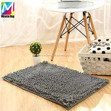 Low Price Microfiber Water Absorbent Bath Mat Non Slip Bath Rug for Bathroom