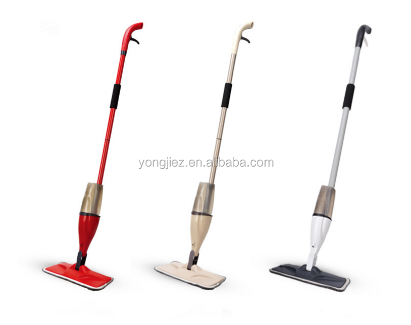 Floor Spray Mop with Removable Detachable Bottle and microfiber Pad