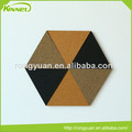 China supplier wholesale decorative special deign custom printed triangle cork board