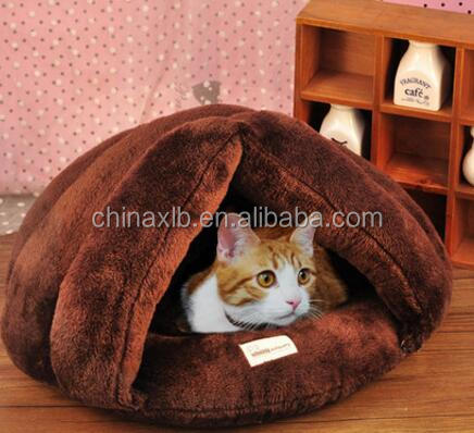 100% cotton sleep cosy cat bed , heated Pet Bed , dog bed for small pets