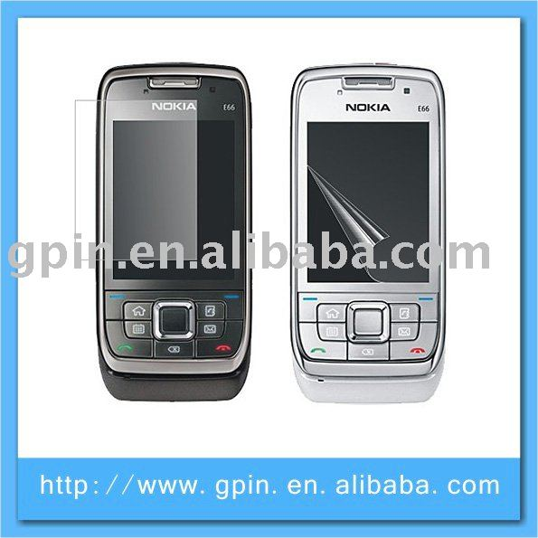 lcd screen protector for Nokia e66 ,screen protection film for Nokia E66