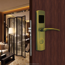 Narrow Body European Mortise Electronic Hotel Door Lock System