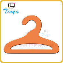 Concise design multifunctional orange clothes paper hangers for baby