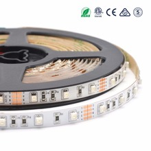 Blue hard red 60leds/m DC12v addressable smd 3528 rgb connector led strip set
