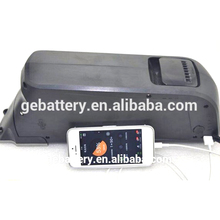 12ah lithium battery in frame electric bike with USB application for Phone