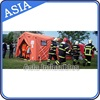 Outdoor Camping Tent, Waterproof Military Tent, Inflatable Fire Retardant Tent