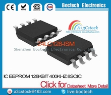 24LC128-I/SM IC EEPROM 128KBIT 400KHZ 8SOIC 24LC128-I 128 24LC128 C128 LC128