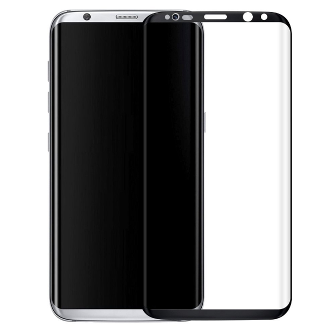 For Samsung Galaxy S8 Nano TPU soft screen protector full cover Tempered Glass