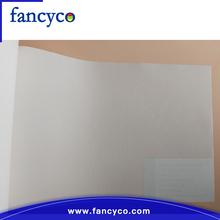 High quality digital print custom waterbase chemical fiber canvas glossy plastic canvas on roll