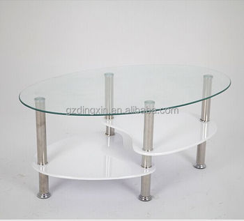 Cheap Round Rotating Glass Coffee Table View Swivel Glass Coffee Table Dingxin Product Details