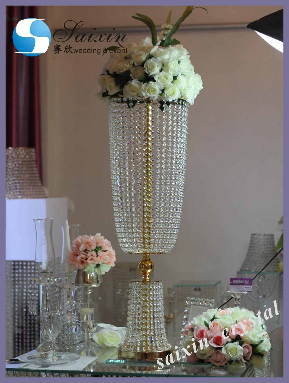 Wedding event decoration gold centerpiece stand zt g