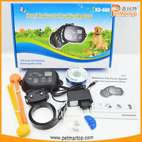 Underground Adjustable Pet Dog Fence System with Electric Shock Collar TZ-KD660