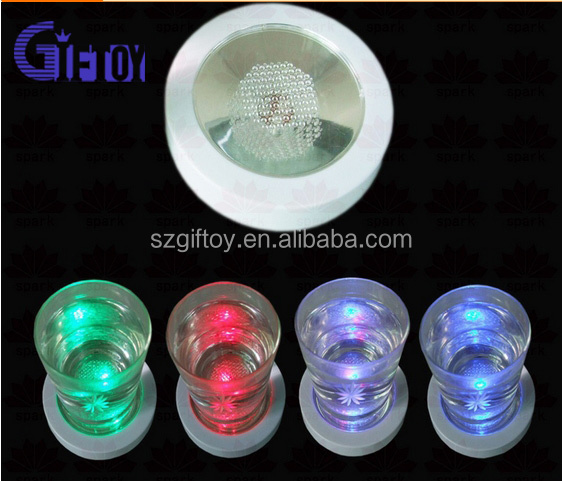 Color Changing LED Light Drink Cup coaster