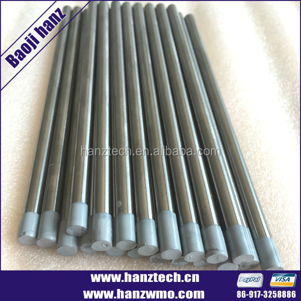 Supply hight quality tungsten lanthanum alloy rod electrode