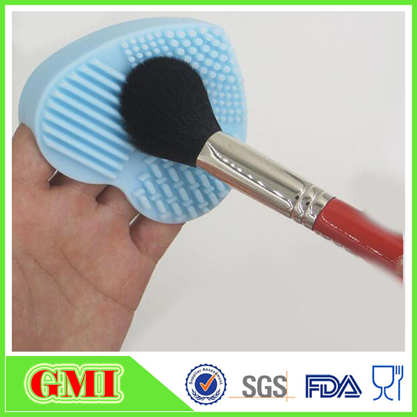 2017 custom design fashion washing silicone face cleaner brush facial beauty massage makeup brush