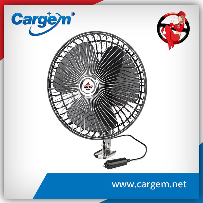 CARGEM Car Interior Accessories 8'' Oscillating Auto Fan