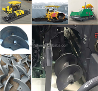 Asphalt mixer spares auger blade for ABG titan paver China Wholesale
