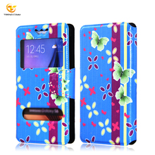 wholesales universal leather flip case cover for smartphone