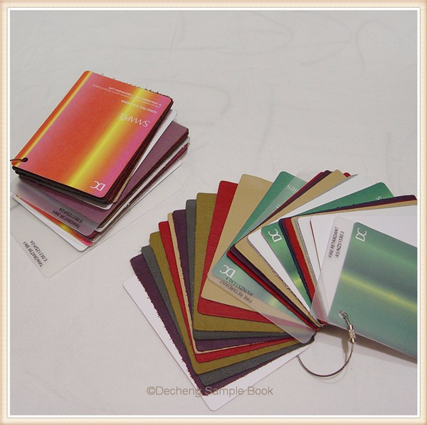 Plastic Book Cover Material : Kinds of coloful fabric cutting memo sample buy