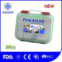 Wholesale First Aid Kit Meet OSHA and ANSI,Transparent PP Material Wall Mounted First Aid Box for Home,Workplace,School,Outdoor