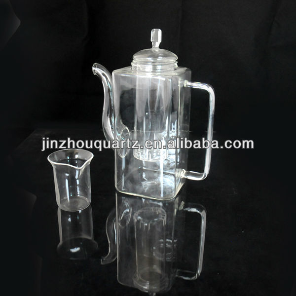 hot selling good appearance high purity quartz crystal tea sets