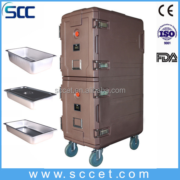 Hot Sale SB1-D165 food grade plastic cabinet,food warming cabinet,hot food display cabinets