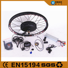 48v 1000w 2000w 3000w electric bike kit /ebike conversion kit with battery with LCD display
