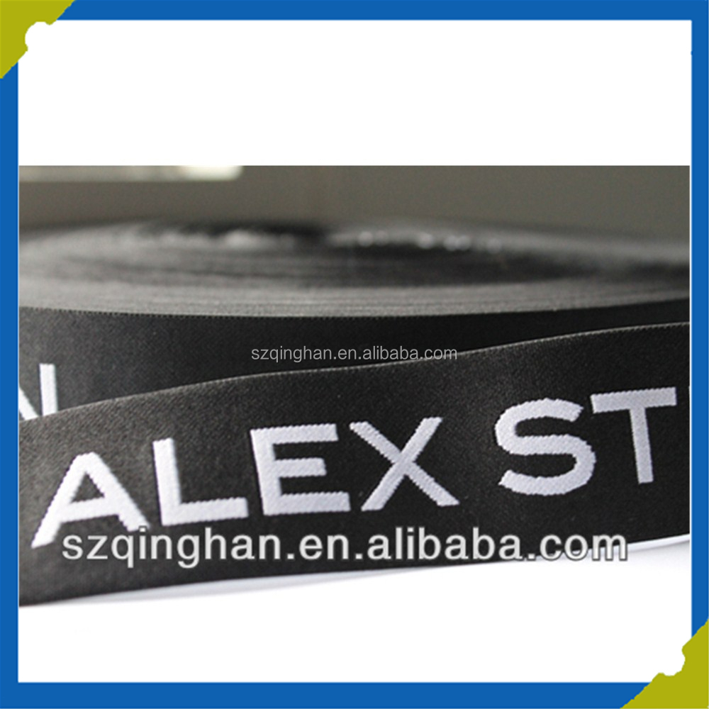 Custom Jacquard Elastic Waistband Webbing Belt Elastic Rubber Tape for Underwear