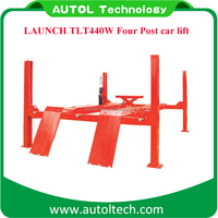 Best price cheap auto lifts Launch TLT440W Wheel Alignment 4 Post car Lift for sale