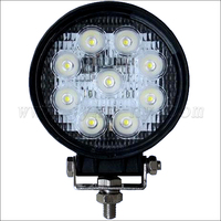High quality 27w led work light light/ 12v 24v 27w led work light/ new 27w car led tuning light led work light