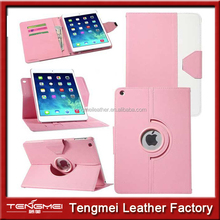 For iPad 5 iPad Air Case HIT Color Hard Stand 360 degree Rotation, Smart Magnetic Case For iPad Air 5