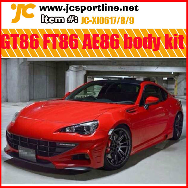 for Toyota 86 GT86 FT86 AE86 Ferrari-look car body kit