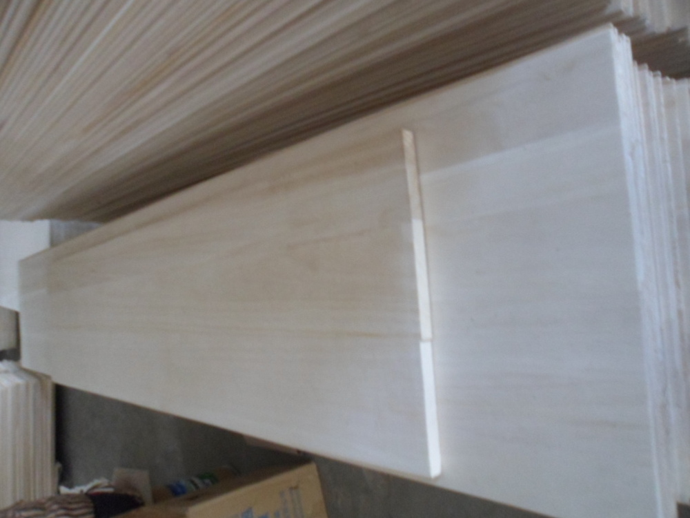 solid edge glued panel China paulownia