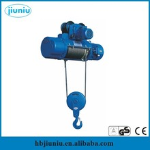 Factory small electric hoist price benefit, 1 ton electric chain hoist