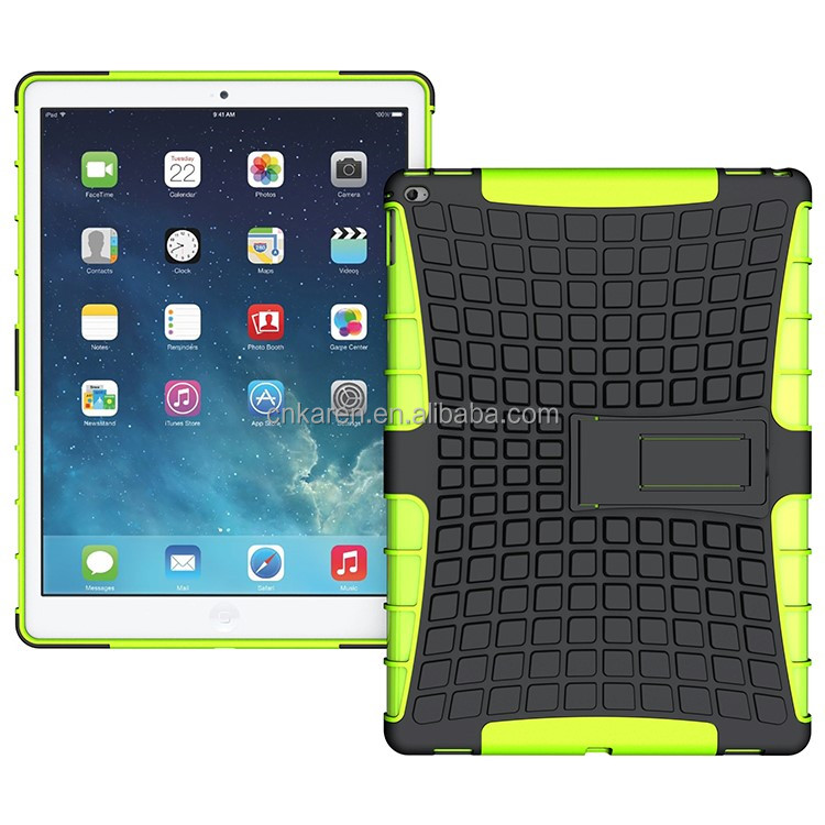 2 in 1 Full-body Rugged Armor Tablet Protective Case For iPad Pro 12.9''